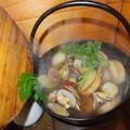 Photos: アサリと大根の小鍋です