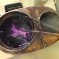 燗銅壺の炭