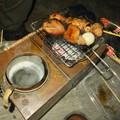 Photos: 燗銅壺で花見