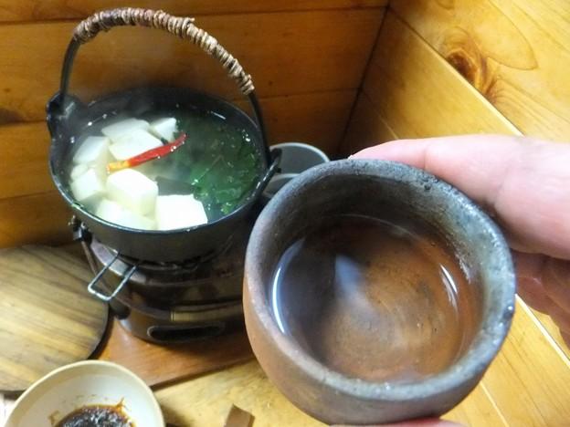湯豆腐で一杯