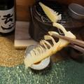 Photos: タケノコ焼く