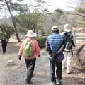 写真: 森林公園ウォーク先からK先生Nさん大さん