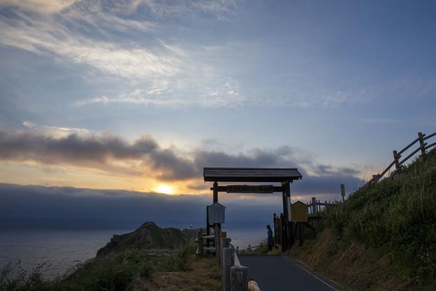 sunset in kamui cape