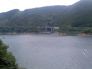 宮ヶ瀬湖(7月13日)