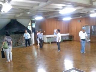 施設下見(7月13日、愛川ふれあいの村)