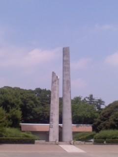 横浜市戦没者慰霊塔(7月16日)