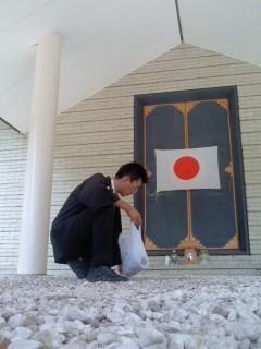 清掃奉仕(7月16日、神奈川縣護國神社)