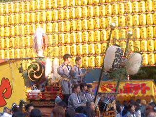 お囃子(7月16日、靖国神社みたままつり)