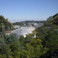 学窓からの眺め2(10月16日、山崎小学校)