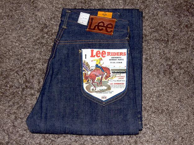 Lee RIDERS 101 1946年復刻モデル Lot.4101