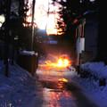 写真: 納涼草津5 輝く道