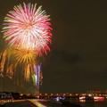 写真: 足立の花火