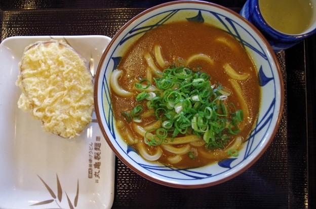 IMGP4832岩国市、丸亀製麺カレーうどんいも天