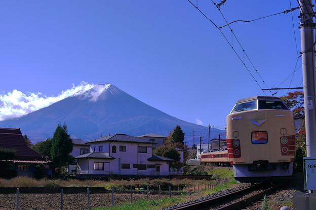 M51ホリデー快速富士山