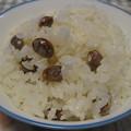 写真: 煎り大豆ご飯