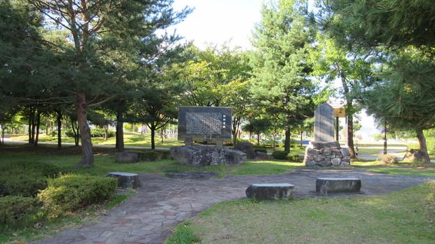 勘助宮跡(長野市営 南長野運動公園)