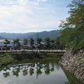 松代城(長野市営 海津城跡公園)内堀東、南向き
