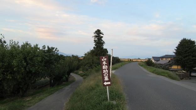 山本勘助墓(長野市松代町)