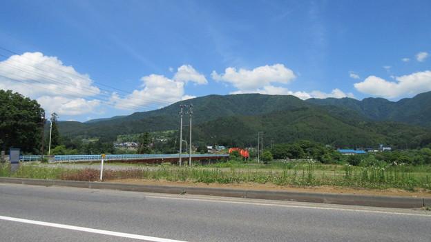 15.06.10.小菅神社(飯山市)大関橋と小菅山