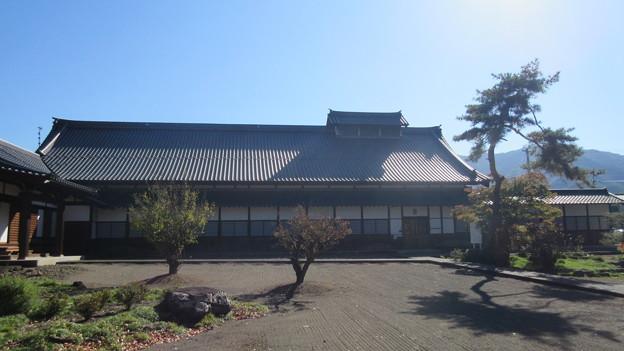 長国寺(長野市松代町)庫裏