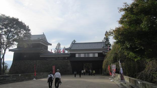 上田城(上田市営 上田城址公園)東虎口櫓門