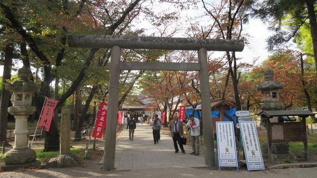 上田城(上田市営 上田城址公園)真田神社