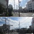 小田原古城 水堀跡(近現代舗装路。神奈川県)