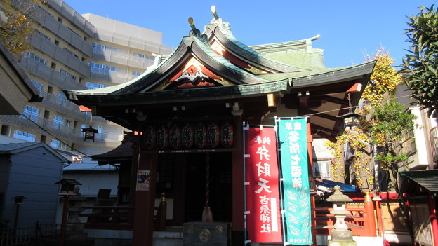 九郎助稲荷神社(吉原神社。台東区千束)