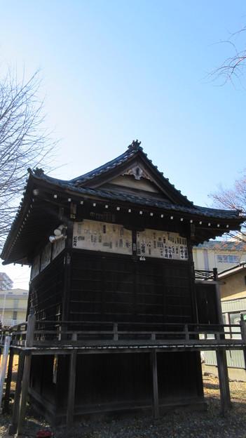 三囲稲荷神社(向島2丁目)神楽殿