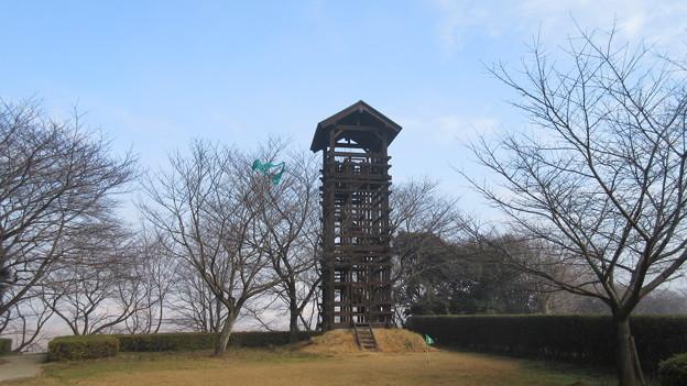 逆井城 北東井楼矢倉(茨城県坂東市営 逆井城跡公園)