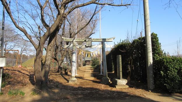 地黄八幡(茨城県坂東市)