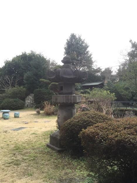 小島資料館(町田市)石灯籠