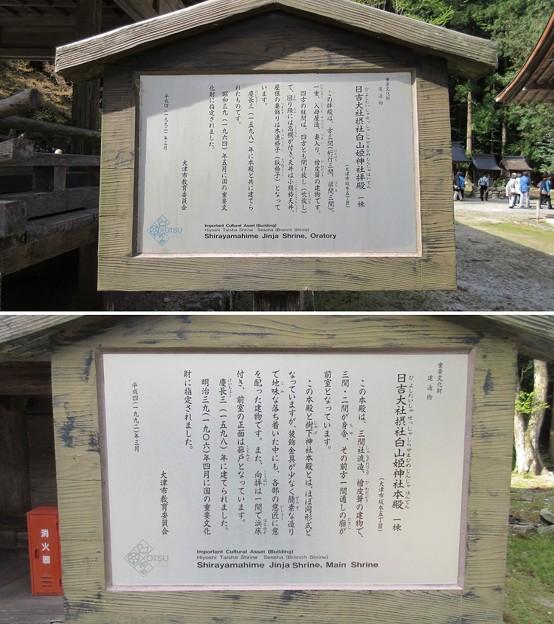 日吉大社(大津市)白山姫神社