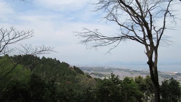 日吉大社(大津市)八王子山山中より