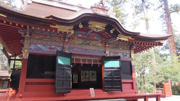一之宮貫前神社(富岡市)拝殿