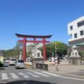 鶴岡八幡宮 二の鳥居(鎌倉市)