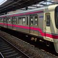 写真: 京王線系統8000系(隅田川花火大会当日)
