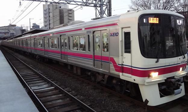 京王線系統8000系(有馬記念場外発売日当日)