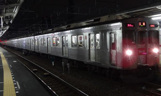 東急電鉄8500系 新玉川線開業35周年HM付き