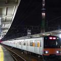東京スカイツリー(シャンパンツリー)と東武鉄道50050系
