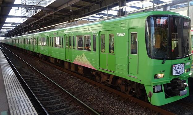 Photos: 京王線系統8000系(緑/第35回ジャパンカップ当日)