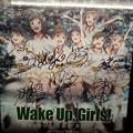 Photos: TOHO新宿  Wake Up Girls キャストサイン入り ポスター