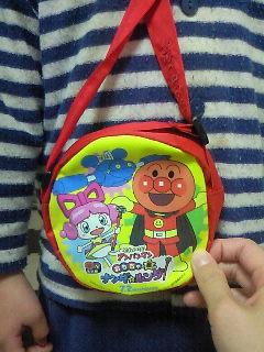 ア○パンマンの前売りについてきた特典バッグ、仙台のミュージアムに...