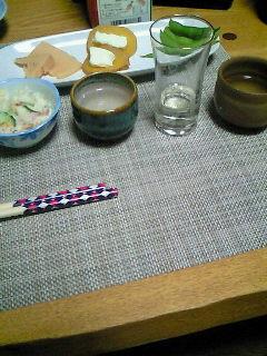 肝心の蕎麦撮り忘れたけど美味しかった。日本酒5種類飲み比べ大会