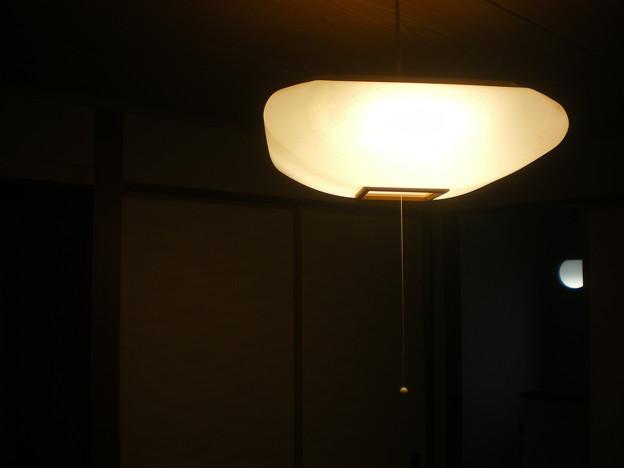 2606 2階和室 天井照明