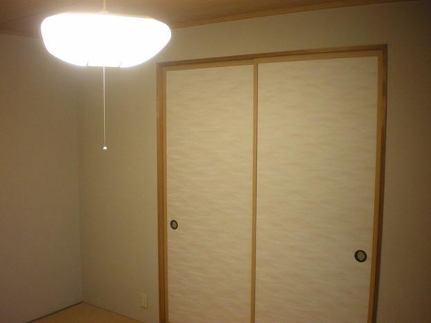 2607 2階和室 天井照明(2)