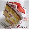 写真: いちごのショートケーキ1-2