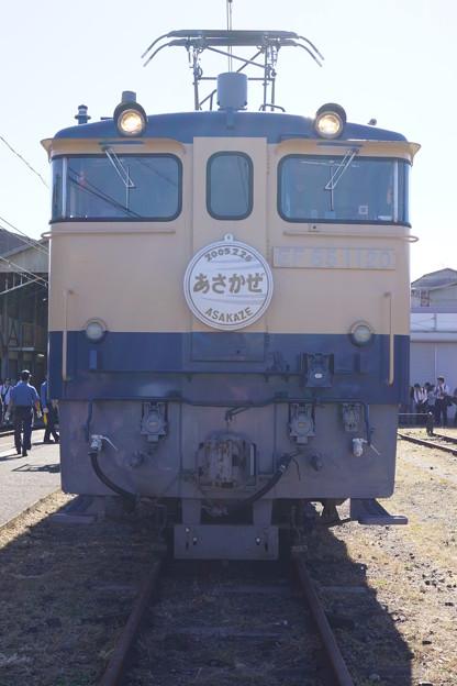 JR西日本 EF65 あさかぜ