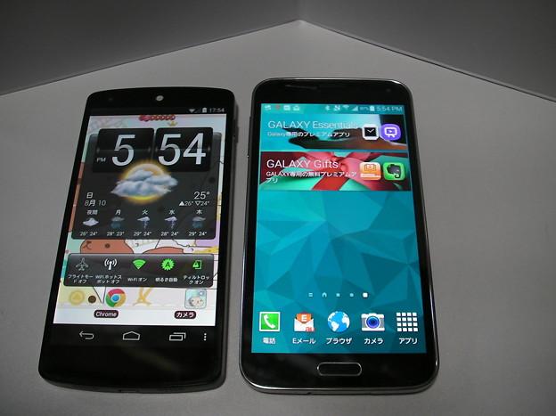 Nexus5と比較