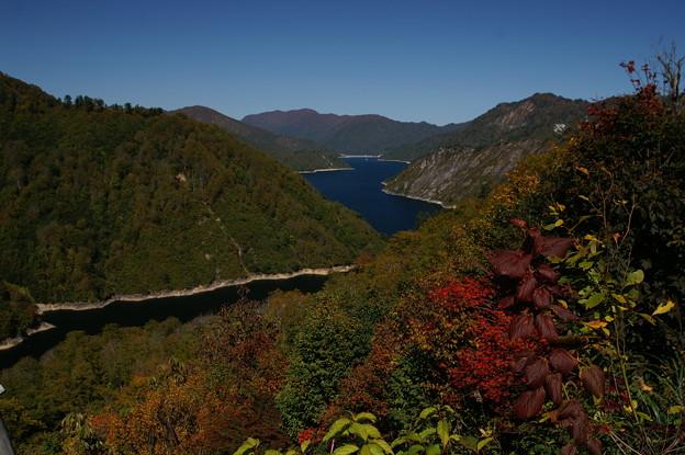 樹海ラインR352・銀山湖